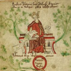June 15, 1215, the date King John probably signed the Magna Carta at Runneymeade Royal_ms_20_a_ii_f008v