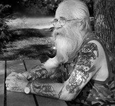 Check out these proudly inked senior citizens. #InkedMagazine #tattooed #seniors #inked #tattooedpeople #tattoos #Ink