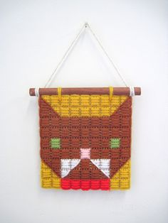 Tapestry Yarn Kitty by The Pin Pals