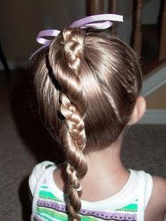 little girl hairdo