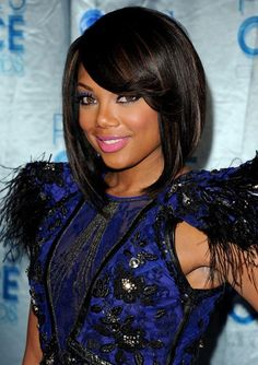 African American short hairstyle 2012