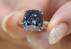 Rare Blue Diamond found in the Cullinan diamond mine