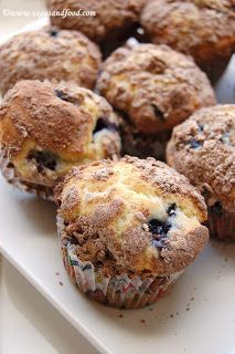 Homemade blueberry muffins ~ Vegas and Food