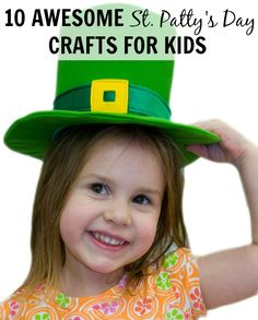 Rainbows, shamrocks, and leprechauns, oh my! Check out these awesome, easy, and inexpensive St. Patrick's Day crafts for kids!