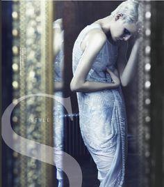STYLE CHINA – MARCH 2012 #style #fashion #magazine #editorial #albertaferretti #look #dress #white
