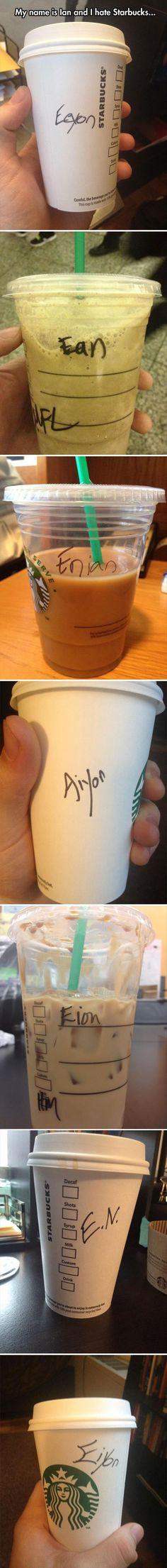 Ian Starbucks issues