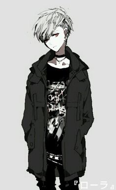 ADOPTED Razr is 15. He hates listening to others, and he's very rebellious. He often is off in his own world, listening to music. Emo Anim, Anim Guy, Anime Guys