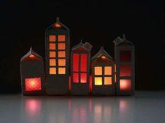 house crafts, kids diy, houses, carton redraw, milk cartons, huisj maken, kid crafts, diy milk, carton light
