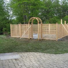 Vegetable Garden Fence Design