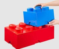Massive LEGO Stackable Storage Bricks