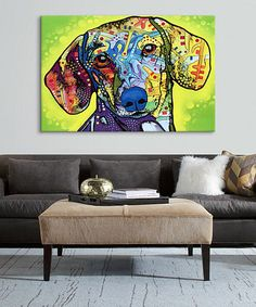 Another great find on #zulily! Dachshund Wrapped Canvas #zulilyfinds