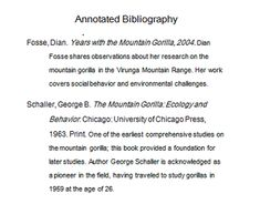 how to write an annotated bibliography apa