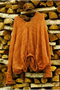 Amazing k.n.i.t slouchy sweater