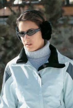 Primer plano de Ana Boyer Preysler, la pequeña de la casa quien, además de esquiar, practica golf, tenis y natación
