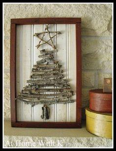 #Twig #Christmas #Tree Art