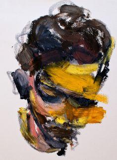 "Saatchi Online Artist: Jaeyeol Han; Mixed Media, 2012, Painting ""Hidden Violence, Notting hill, London 2011"" #art"