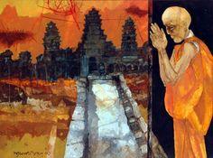 Shyamal Dutta Ray (1934-2005)ANGKOR WAT, CAMBODIA