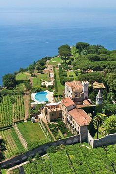 Villa Cimbrone, Ravello, #Italy