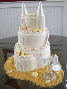 Cakes by Kasarda ~ sand castle