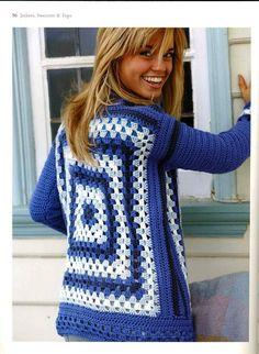 Crochet In No Time 2007 - 紫苏 - 紫苏的博客 crochet jacket, crochet project, crochet 12, crochet idea