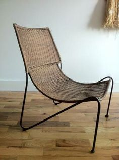 Weinberg Sling Chair $800. Price is similar to 1stdibs, but it is a pretty piece!