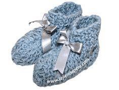 Tutorial: pantuflas tejidas en telar rectangular