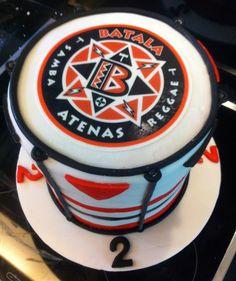 Batala Atenas band cake! band cake