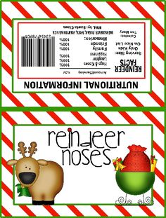 Jolly Christmas, Reindeer Nose, Christmas Crafts, S'Mores Bar, S'More ...