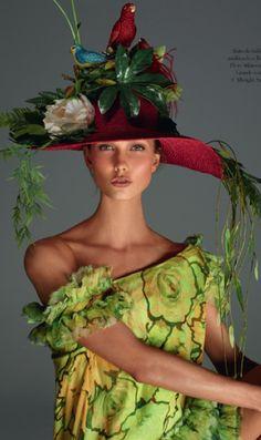 Grand Hat - vintage Dior