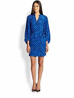 Diane von Furstenberg Tanyana Silk Shirtdress