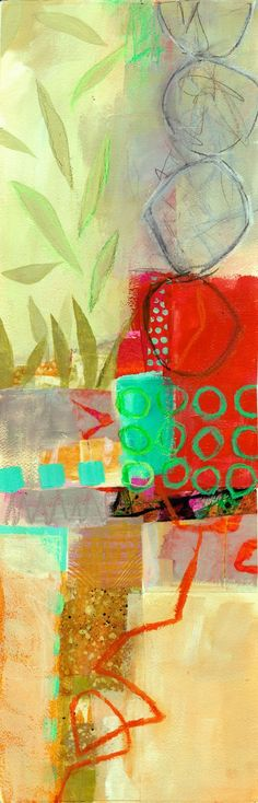 collage journeys: More Big Fat Art and a few more Verticals -- Jane Davies