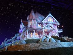 Would love to live in the Coraline house