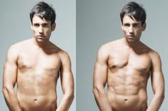 retouched male