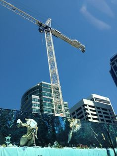 Yet another majestic Vancouver crane.