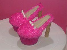 Cupcake pumps  Paris, birthday