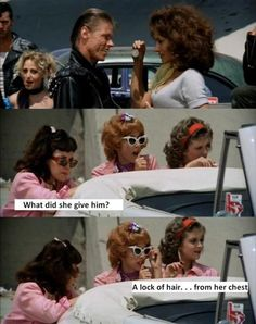 Great Grease moment