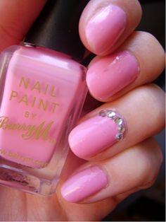Pink Nails #smtm