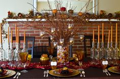 Thanksgiving table #thanksgiving #table