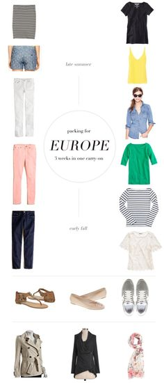 Italy + France Packing: packing for Europe Omg dani!! Look! The times we wanted to go to Paris! Late summer early fall!
