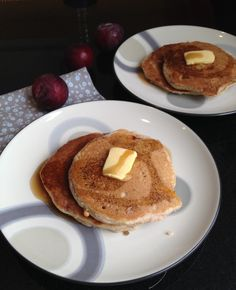 Basic Paleo Almond Flour Pancakes With Plums and a Quick Euro Trip ...