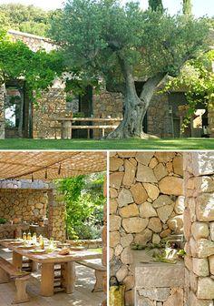 Terrasse, Maison d'été, Corse