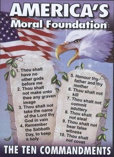 AMERICA'S MORAL FOUNDATION