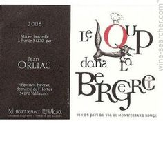 It's a wine label - I just like the design (I'm looking for interesting typefaces/design)