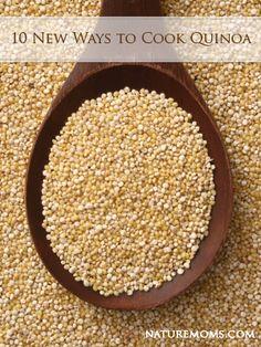 10 New Ways to Cook Quinoa