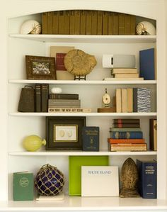 Bookcases/Bookshelf Decorating Ideas on Pinterest