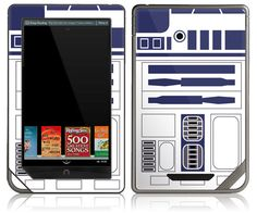 nook skin - yay r2d2