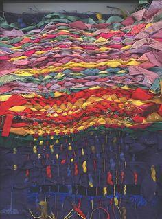 weaving with fabrics