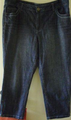 MINK DENIM Crop  Jeans Size 18