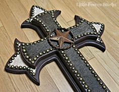 decorative wooden crosses | ... Wood Wall Cross, Painted wood Cross, Decorative Wood Crosses, Unique