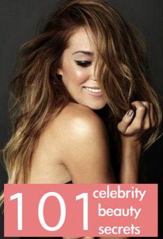 101 celebrity beauty secrets to steal